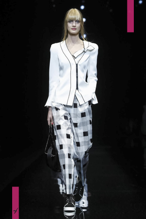 Emporio Armani Ready To Wear Collection Fall Winter 2017 Fashion Show in Milan