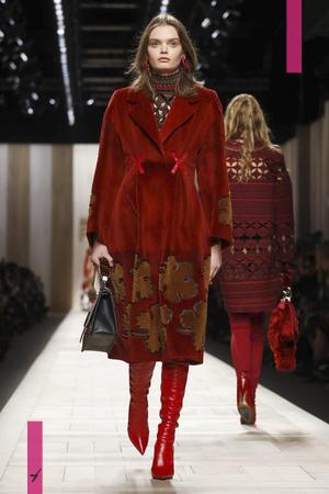 Fendi Ready To Wear, Fall Winter 2017 Fashion Show in Milan