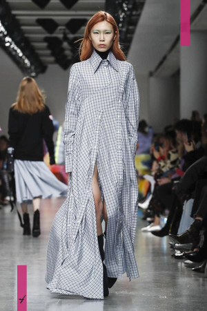 Fyodor Golan, Fashion Show, Ready to Wear Collection Fall Winter 2017 in New York