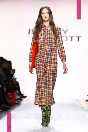 Jeremy Scot, Women Fashion Show, Ready to Wear Collection Fall Winter 2017 in New York