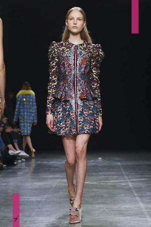 Mary Katrantzou, Fashion Show, Ready to Wear Collection Fall Winter 2017 in London