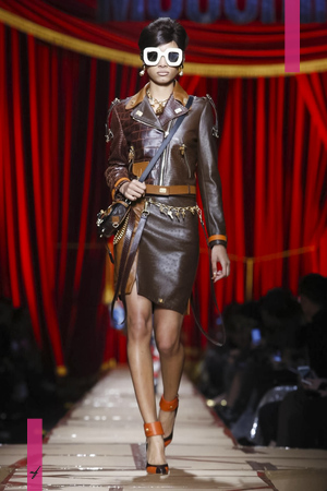 Moschino Ready To Wear Collection Fall Winter 2017 Fashion Show in Milan