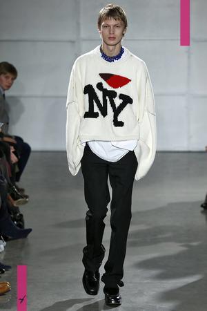 Raf Simons Menswear Collection Fall Winter 2017 New York Fashion Week NYTCREDIT: NOWFASHION
