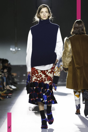 Dries Van Noten, Fall Winter 2017 Ready To Wear Collection in Paris