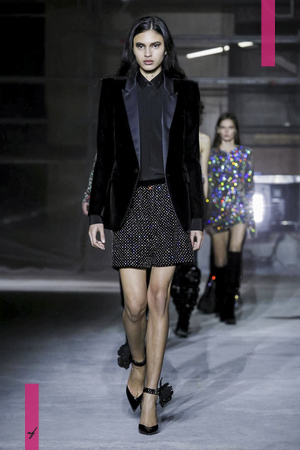 Saint Laurent, Fashion Show, Ready to Wear Collection Fall Winter 2017 in Paris